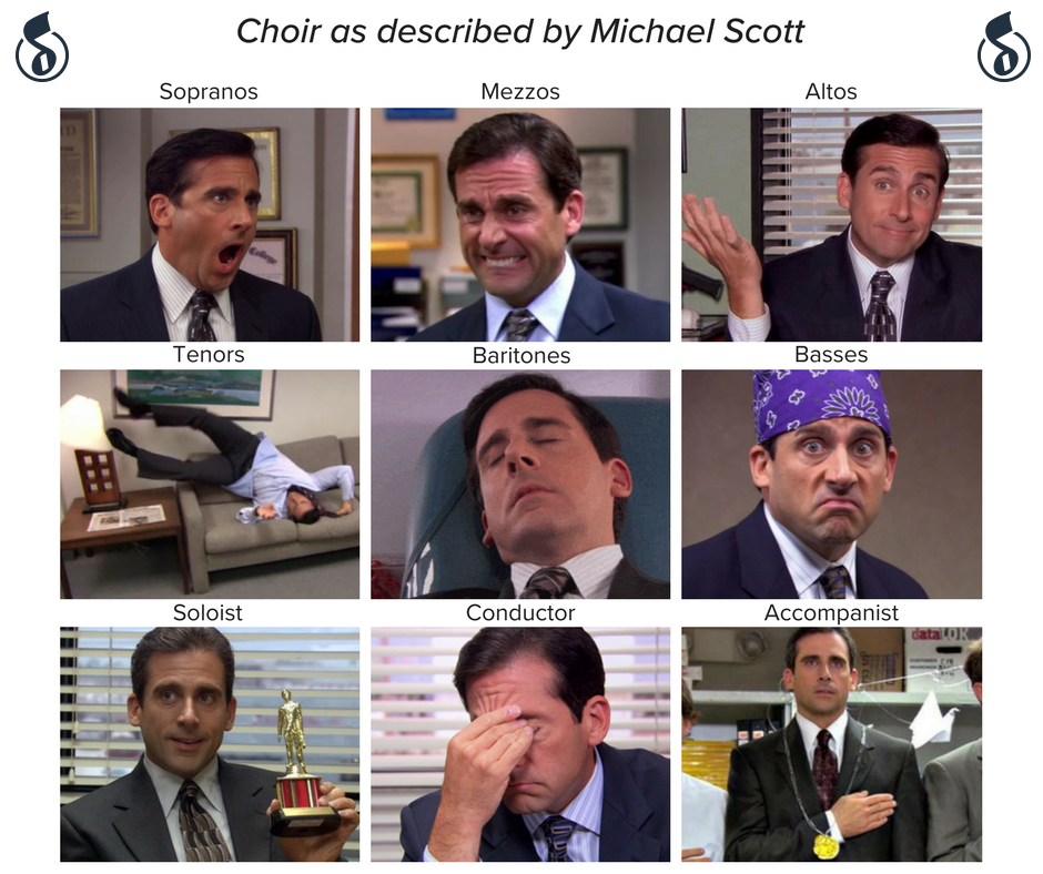 Choir as described by Michael Scott